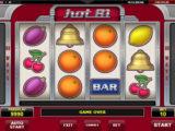Online herní automat Hot 81 od společnosti Amatic