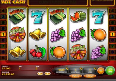 Casino automat Hot Cash online