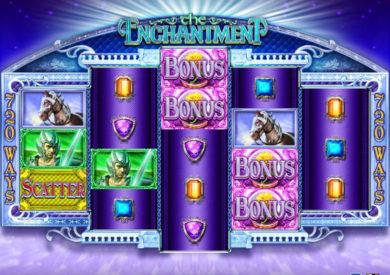 Online casino automat The Enchantment bez stahování