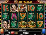 Roztočte válce herního automatu Jade Heaven online