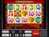 Online casino automat King's Treasure