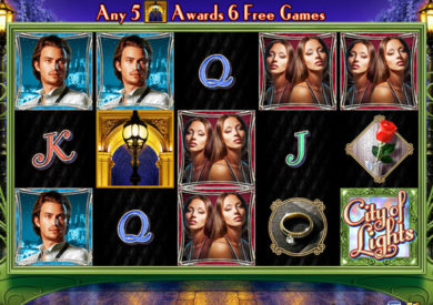 Online casino automat City of Lights bez vkladu