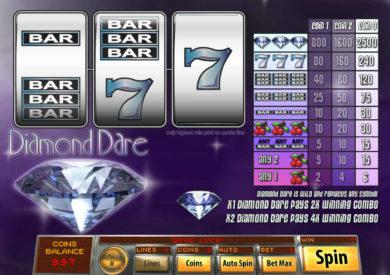 Casino automat Diamond Dare zdarma, bez vkladu