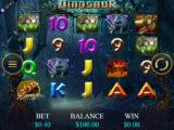 Online casino automat Dinosaur Adventure od vývojářské společnosti Genesis Gaming
