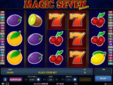 Zahrajte si casino automat Magic Seven Deluxe zdarma