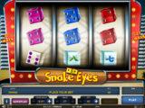 Online casino automat Snake Eyes zdarma
