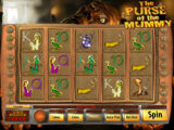 Online casino automat The Purse of the Mummy zdarma