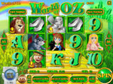 Zahrajte si casino automat World of Oz zdarma