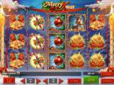 Obrázek online casino automatu Merry Xmas zdarma