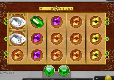 Obrázek z online casino automatu Wild Star zdarma