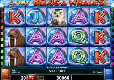 Casino automat Jolly Beluga Whales bez vkladu
