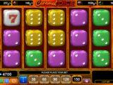 Zahrajte si zábavný casino automat Caramel Dice