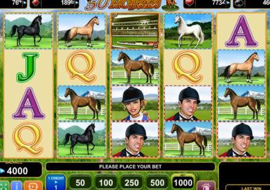 Zahrajte si online casino automat 50 Horses zdarma