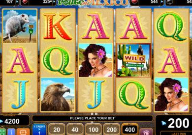 Online casino automat Route of Mexico bez vkladu