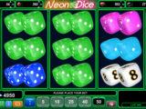 Casino automat Neon Dice online
