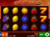 Online casino automat Explodiac Maxi Play od společnosti Bally Wulff
