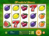 Online casino automat Fruits´n´Stars zdarma