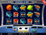 Zábavný online casino automat Adventures in Orbit