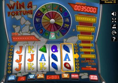 Online casino automat Win a Fortune bez vkladu