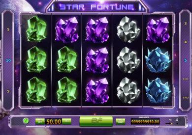 Roztočte casino automat Star Fortune online