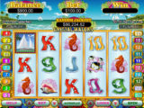 Roztočte online casino automat Crystal Waters