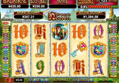 Zábavný casino automat Hairway to Heaven zdarma