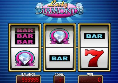 Casino automat Lucky Diamonds zdarma