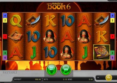 Online casino automat Magic Book 6 zdarma