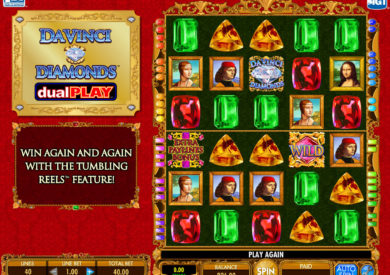 Online casino automat Da Vinci Diamonds DualPlay