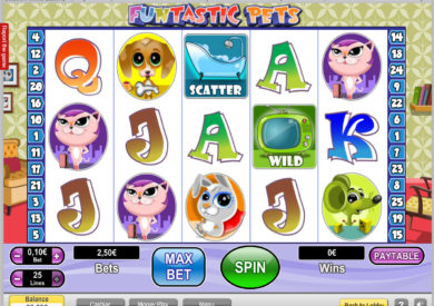 Funtastic Pets casino automat bez vkladu