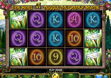 Herní automat In Bloom zdarma, bez stahování