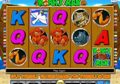 Casino automat Noah's Ark bez vkladu