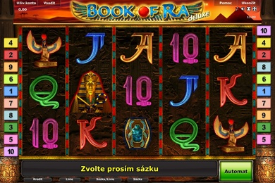 Casino automat Book of Ra Deluxe zdarma