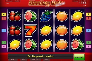 sizzling hot game zdarma