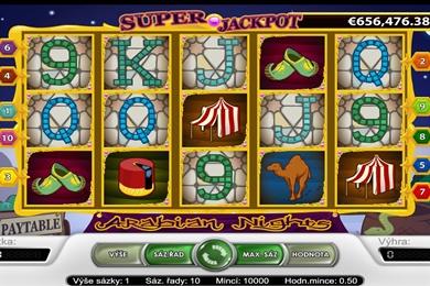 Automat zdarma Arabian Nights online