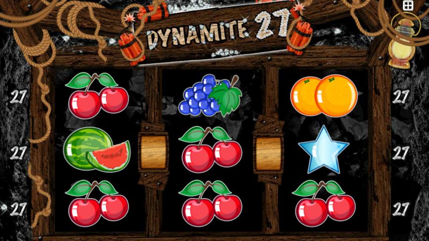 Automat Kajot - Dynamite 27