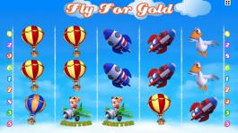 Automat online zdarma - Fly for Golg od Kajotu