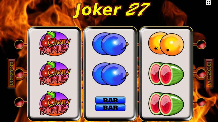 Kajot automat Joker 27 online zdarma