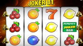 Automat Joker 81 zdarma online