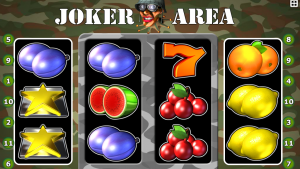 Casino automat Joker Area online, bez vkladu