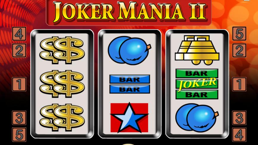 Kajot automat Joker mania