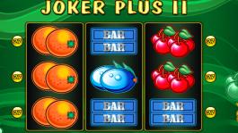 Kajot automat Joker plus II zdarma online