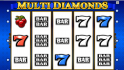 Kajot automat Multi Diamonds zdarma online