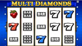 Kajot automat Multi Diamonds zdarma online