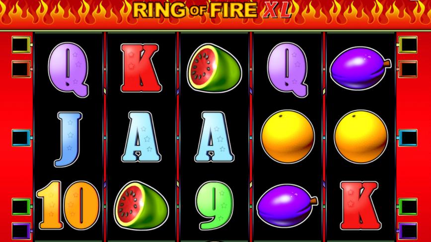 Automat Ring of Fire zdarma online od Kajotu