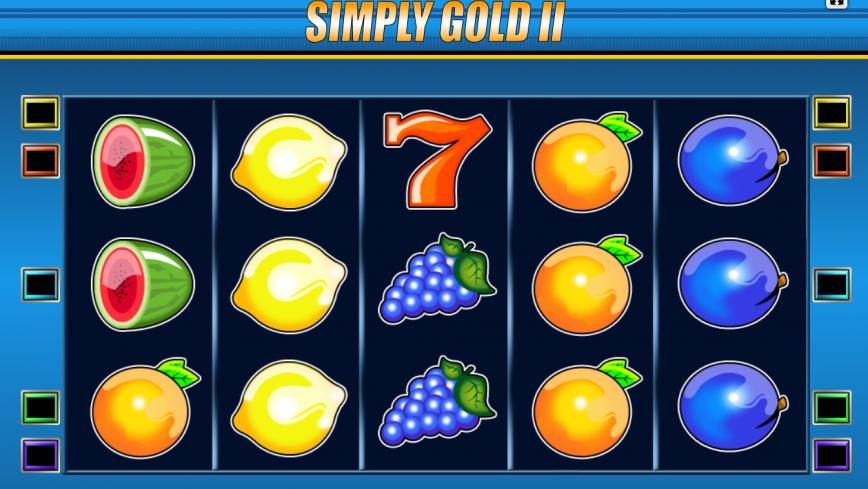 Kajot automat Simply Gold II