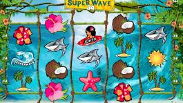 Automat Super Wave 34 zdarma online