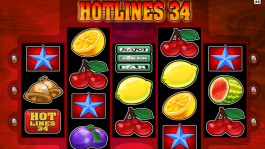 Obrázek automatu Hotlines 34 zdarma online