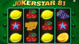 Casino herní automat Jokestar 81