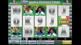 Top Trumps World Football Stars herní online automat zdarma